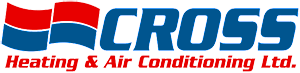 Cross Heating Logo